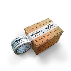 Amazon Branded Tape (Transparent) - Pack of 6
