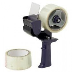 Manual Hand Operated Tape Dispenser With 2 inch PVC Transparent Tape Roll-50mm or 2 inch